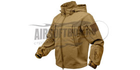 Rothco Куртка Special Ops Tactical Soft Shell Jacket (Coyote) разм.XXL
