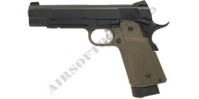 KJ Works Colt 1911 HI-Capa (KP-05) (OD) (CO2)