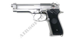 WE Beretta M92S (CO2) Silver
