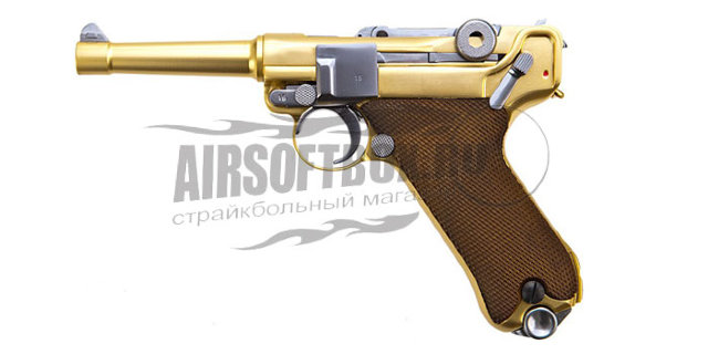 WE Luger P08 Gold (Short)