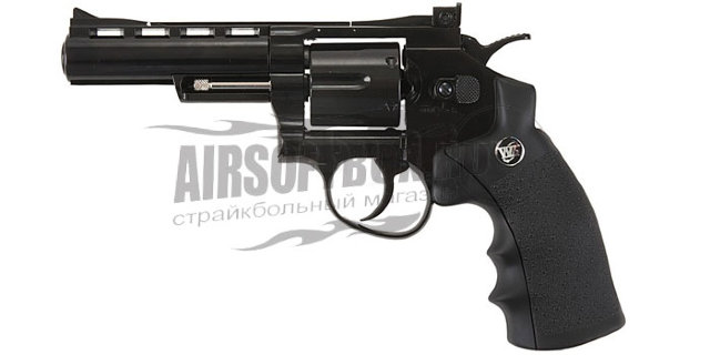 "WinGun 4"" Magnum Revolver (Plating Black)"