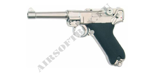 WE Luger P08 Silver (Short)