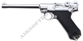WE Luger P08 Silver (Medium)