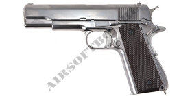 WE Colt 1911 (Silver)