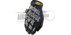Mechanix Перчатки Original Black (MG-05)