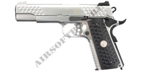 WE Colt 1911 Knight Hawk (Silver)